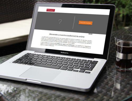 Test de audición online en la web de ReSound