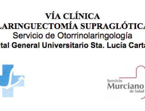 Vía clínica laringectomía supraglótica