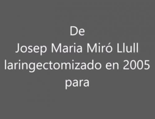 Josep María Miró Llul intervención Congreso AEEORL 2017 con enlaces